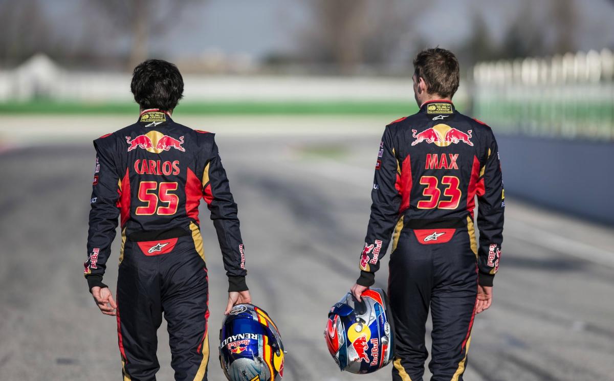 Verstappen y Sainz Jr., la mejor pareja de Toro Rosso. - Auto y Pista